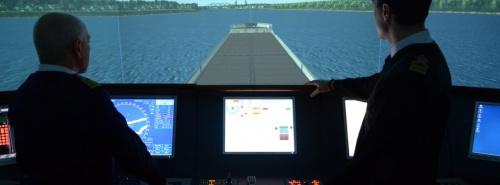 Управление водным транспортом и гидрографическое обеспечение судоходства