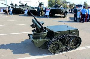 Роботизированные комплексы вооружения